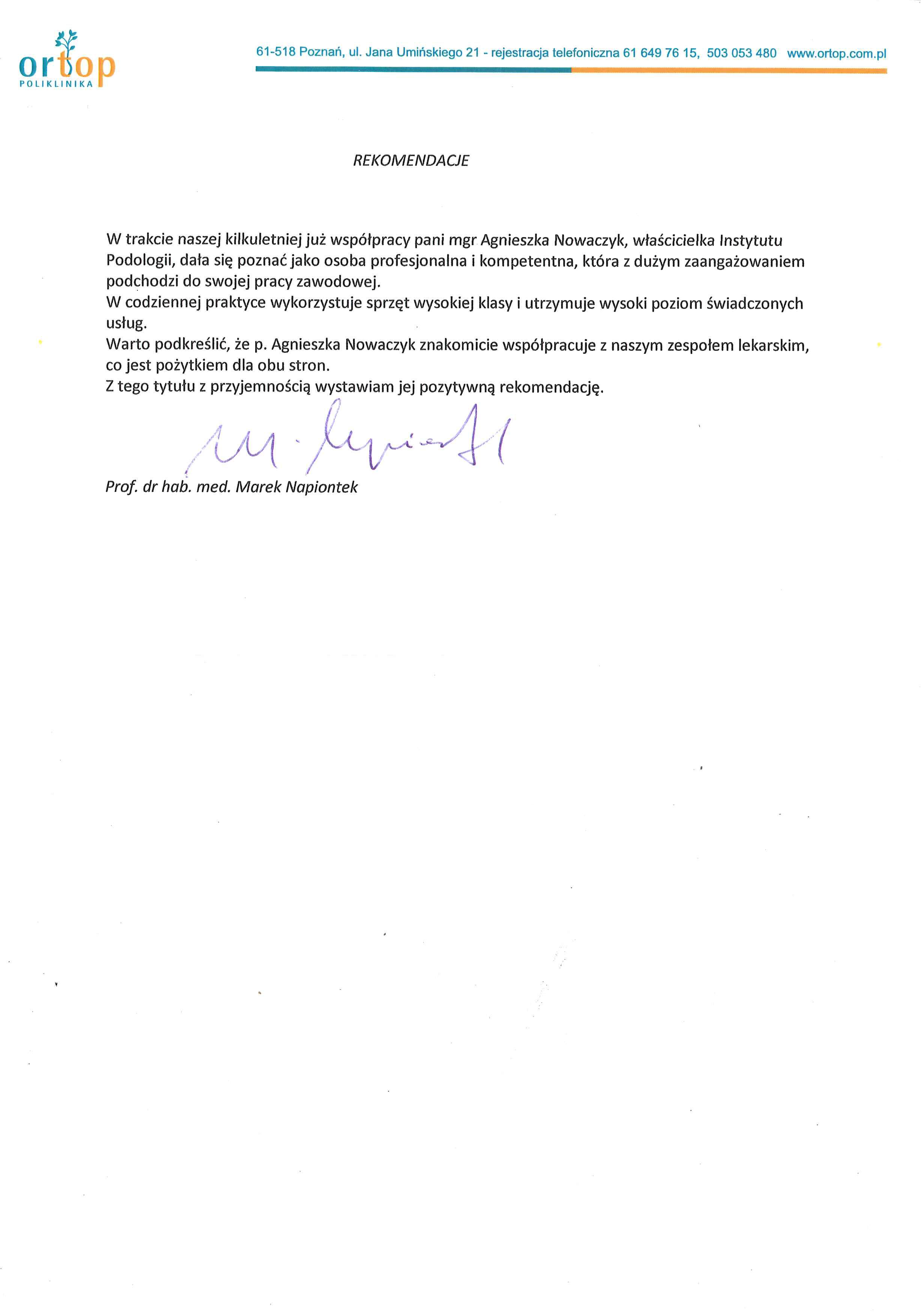 Instytut Podologii Poznan Leczymy Wrastajace Paznokcie Odciski